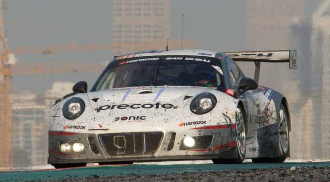 ドバイ24時間レースでデビューした「ポルシェ911 GT3R」、ワン・ツーフィニッシュを飾る