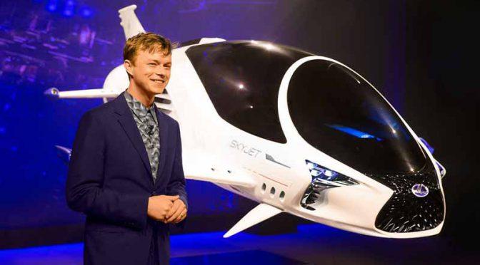リュック・ベッソンの新SF映画に登場するレクサスブランドの宇宙船「スカイジェット」をプレビュー