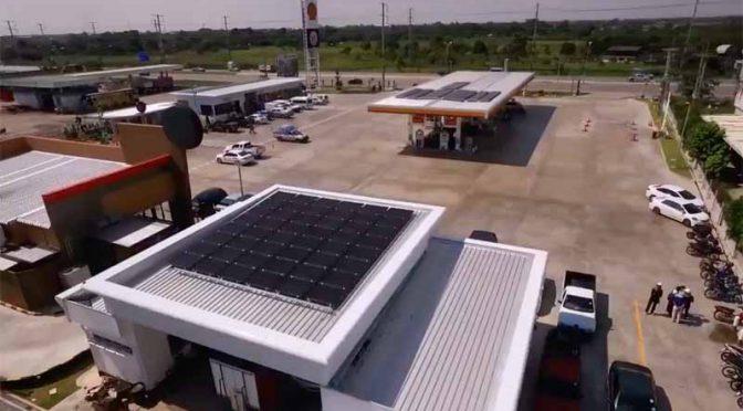 昭和シェル石油グループのソーラーフロンティア、タイのシェルSSにCIS薄膜太陽電池を設置展開へ