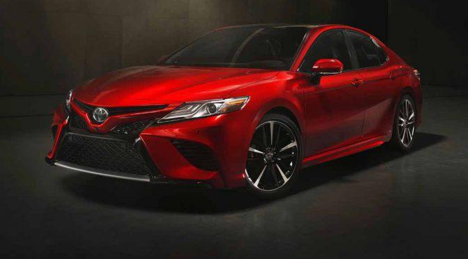 トヨタ自動車、北米国際自動車ショーで新型カムリを世界初披露。日本発売は広域販売網から今夏を予定