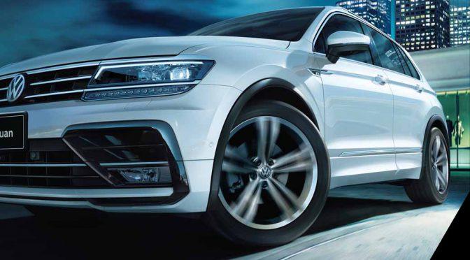 フォルクスワーゲン、新型コンパクトSUV「Tiguan」の日本国内に於ける販売を開始