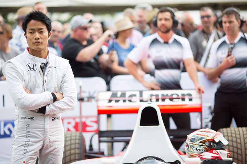McLaren HONDA young Driver Program member's, Nobuaru Matsushita