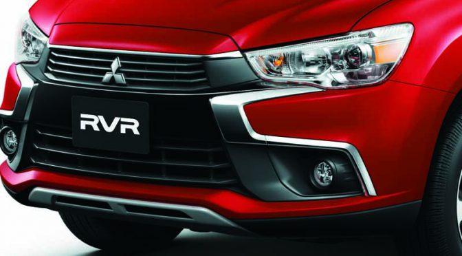 三菱自動車工業、「RVR」のフロントデザインを精悍なイメージに一新。インテリアもスポーツ感を付与