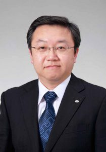 Mr. Hiroyuki Wakabayashi who will be vice president of newly appointed director