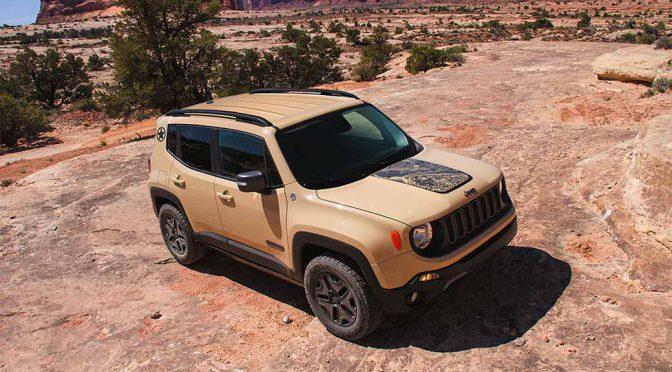 FCAジャパン、砂漠仕様の「Jeep Renegade Deserthawk」を発売