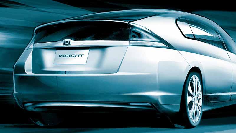 1999年にホンダ初のハイブリッド車となった「INSIGHT(インサイト)」