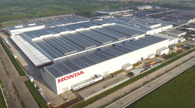 ホンダ、インドネシアで四輪車生産累計100万台達成。年間20万台の生産能力で19%のシェア獲得