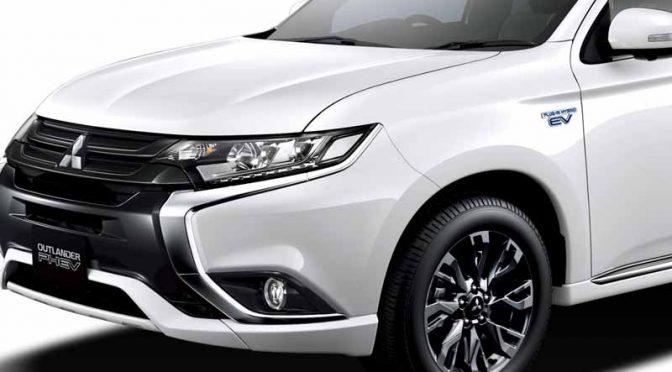 三菱自動車工業、プラグインハイブリッド「アウトランダーPHEV」のEV機能と操縦安定性を改良