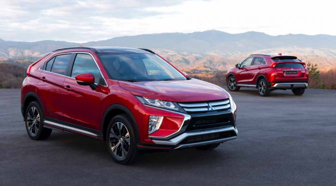 三菱自動車、ジュネーブ国際モーターショーで新コンパクトSUV「エクリプス クロス」を世界初披露