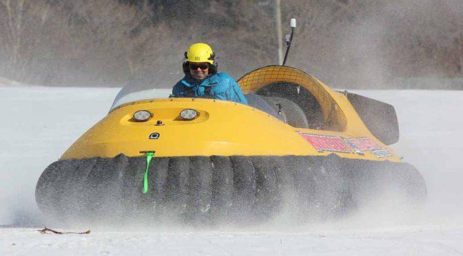富士山二合目のスキー場「イエティ」、米国製6人乗りホバークラフトを日本初導入。2月9日営業開始