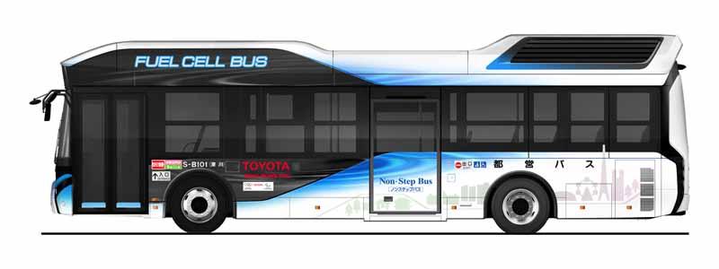 Toyota FC bus (Tokyo metropolitan bus specification)