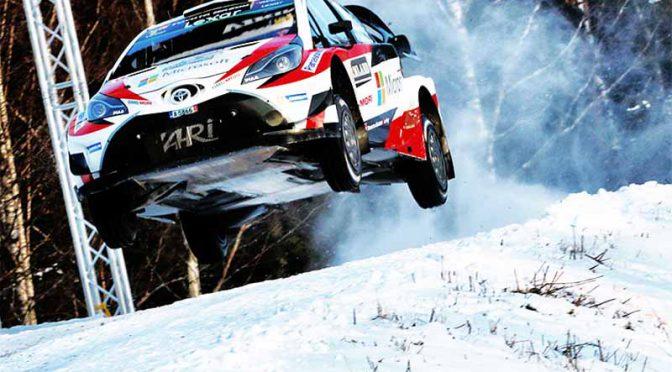 トヨタ、WRC第2戦・自動車ラリー・スウェーデン・デイ4で18年振りの首位獲得