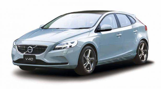 ボルボ、モダンなチェック柄内装とペアの特別限定自動車「V40アマゾンブルーエディション」を発売