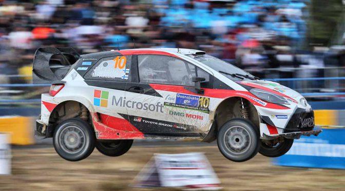 WRC第3戦・ラリーメキシコ・デイ4、2台の「トヨタ ヤリス」総合6・7位