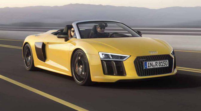 アウディジャパン、「新型Audi R8 Spyder」を3月28日より受注開始・7月上旬に発売