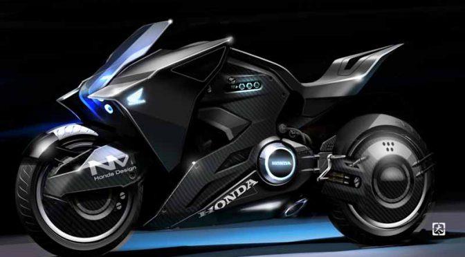 ホンダ、米国版・攻殻機動隊(ゴースト・イン・ザ・シェル)の近未来バイクを国内2輪車ショーに展示