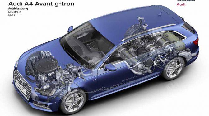AUDI AG、再生燃料車g-tron購入者にe-gas提供へ。CO2排出量80%削減を狙う