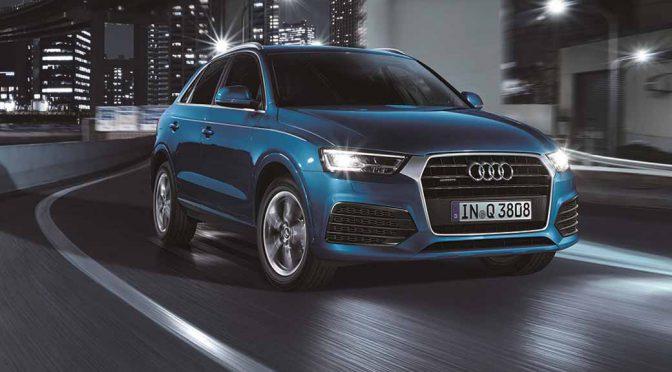 アウディ ジャパン、Audi Q3のフロントフェイスを刷新し3月6日にリリース