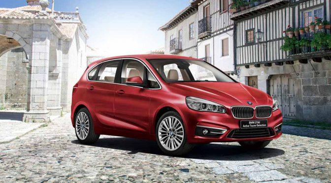BMW、プレミアムコンパクトSUVの限定車「218dアクティブ・ツアラー・セレクション」を発表