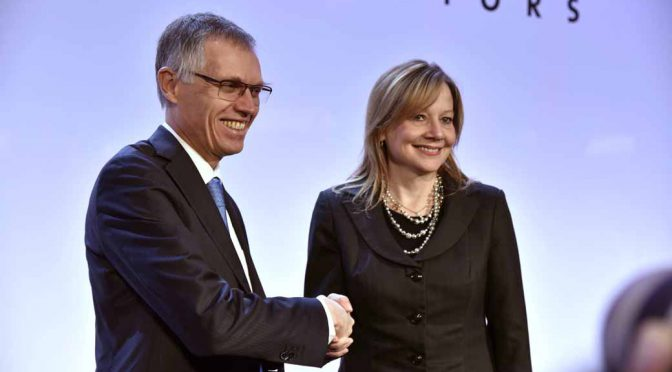 仏PSAは英国時間の3月6日、米GMからオペル&ボクソールを2650億円で買収