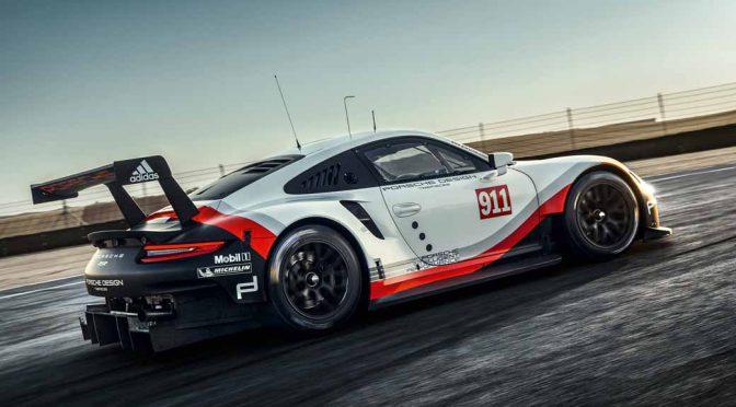 独ポルシェ・ワークス、GTE-Proカテゴリに復帰。911 RSRを駆る2組のドライバーを発表