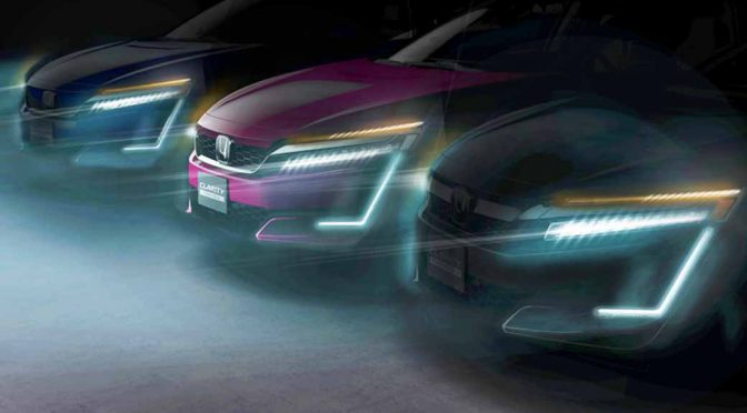 ホンダ、ニューヨークオートショーに「クラリティPHEV」と「同EV」を出展し3電動車を揃える