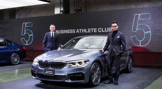 元・サッカー日本代表選手の中田英寿氏が、BMWのブランド・フレンドに就任