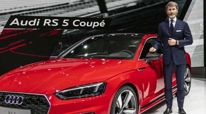 V6ターボで最大トルク600Nmの新型「Audi RS 5 Coupé」を6月より欧州リリース
