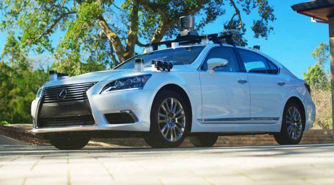 トヨタ自動車、米開催の「プリウス・チャレンジ」イベントでTRI製作の新自動運転実験車を公開