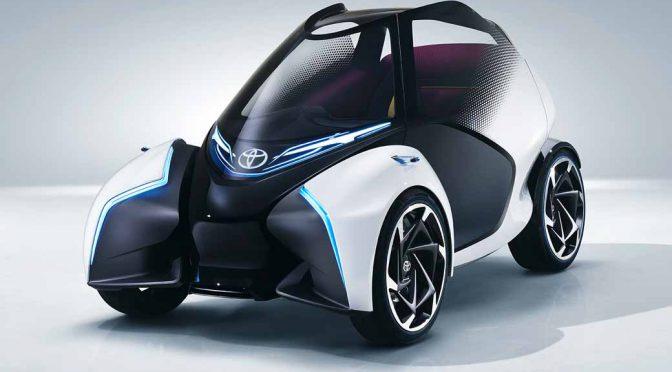 トヨタ自動車、都市型モビリティ「TOYOTA i-TRIL」をジュネーブモーターショーで初披露