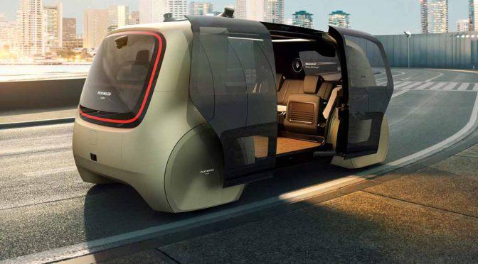 フォルクスワーゲンAG、ボタンを押すだけで「自動運転」を開始する近未来の自動車の姿を世界初披露