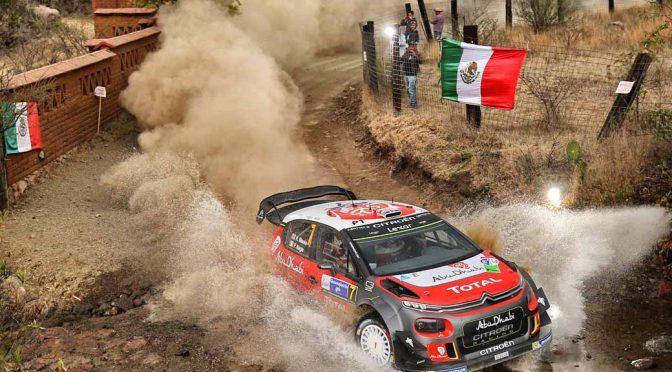 WRCラリーメキシコ、シトロエンC3のクリス・ミーク/ポール・ナゲル組が初優勝