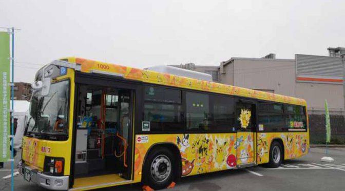 横浜ゴム三重工場、三重交通の大型電気バスに低燃費タイヤを寄贈