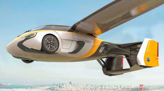 エアロモービル社の空飛ぶ自動車、遂に先行受注開始。初期受注は500台限定