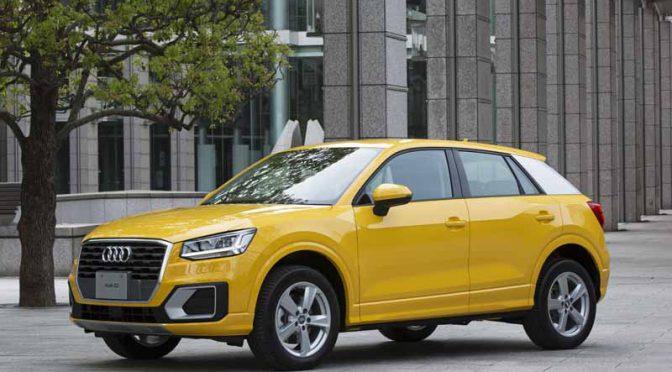 アウディジャパン、ポリゴン(多角形)デザインの新型SUV「Audi Q2」を発売