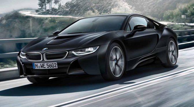 BMW、PHVスポーツカーの「i8プロトニック・フローズン・ブラック」限定20台を受注開始