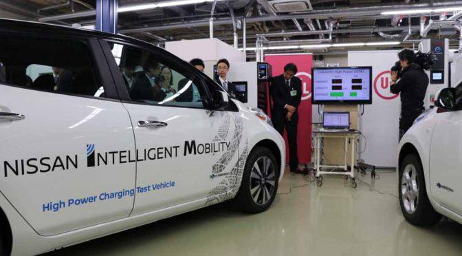 日本発の充電規格を推し進める「チャデモ協議会」、高出力技術の開発で充電効率を3倍に