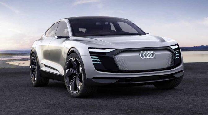 アウディ、4ドアGTカーの「e-tron スポーツバックコンセプト」を上海モーターショーで発表