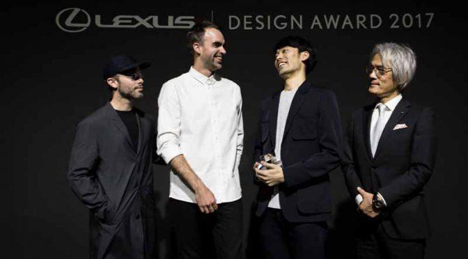 「LEXUS DESIGN AWARD 2017」のグランプリ受賞者が、吉添裕人氏に決定