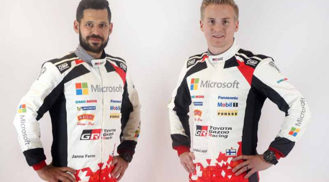 TOYOTA GAZOO Racing、WRCポルトガル戦にエサペッカ・ラッピをエントリー