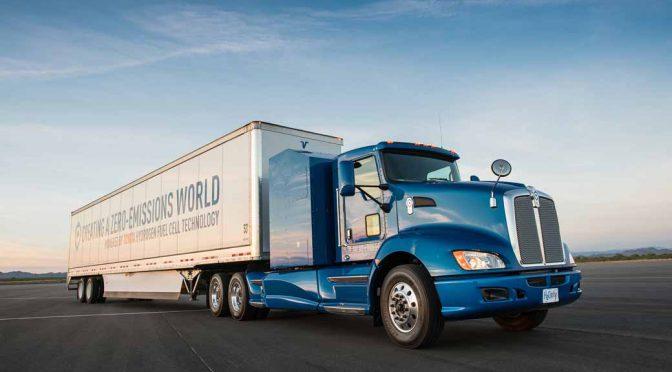 トヨタ自動車、FC大型商用トラックの実証実験を米国LA港で今夏より開始