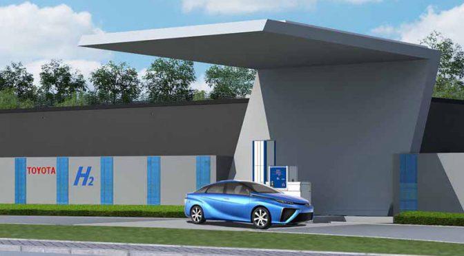 トヨタ自動車、中国国内に水素補給拠点を置く等で燃料電池車「MIRAI(ミライ)」の実証実験開始