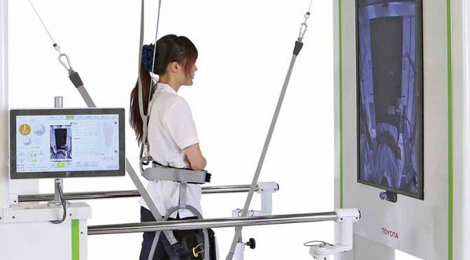 トヨタ自動車、歩行リハビリテーション支援ロボット「ウェルウォークWW-1000」のレンタル開始