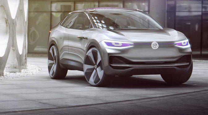 VW、中国でクロスオーバーEVの「I.D. CROZZ(アイ.ディ.クロス)」を世界初披露