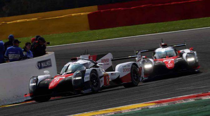 WEC第2戦スパ・フランコルシャン6時間決勝、トヨタが1位・2位。次戦ル・マン24時間へ臨む