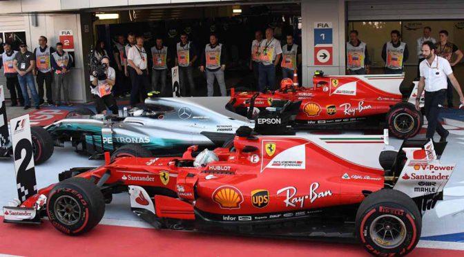 F1ロシアGP決勝、バルテリ・ボッタス優勝にフェラーリが続く。アロンソ脱落・バンドールン初完走