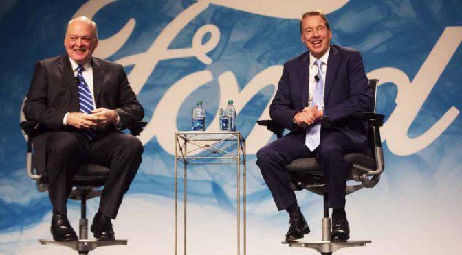 米・フォードモーターカンパニー、新CEOにジム・ハケット氏を起用。マーク・フィールズ氏は退任へ