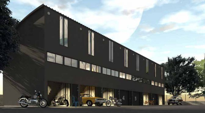 ディトナハウス・ガレージアパート「AREA053」、北海道・苫小牧市に9月オープン