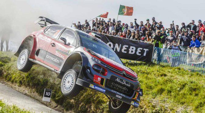 シトロエン陣営、WRCポルトガルで復活したファフェを果敢に攻略。ブリーンが5位でフィニッシュ
