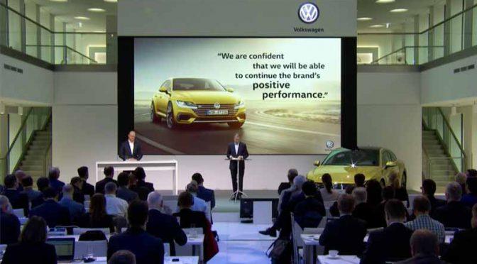 独・フォルクスワーゲン、今年の年次総会で2020年を目処にSUVラインナップの大幅拡充を発表